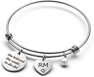 G-Ahora BTS Love Yourself Army Bracelet SUGA JIN Jimin V JHOPE RM JK Gift for BTS Fans She Believed She Could So She Did BTS Jewelry