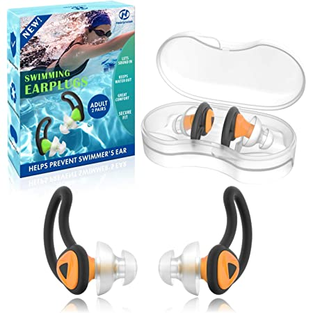Speedo Biofuse Swimming Pool Aquatic Earplugs Comfort Protection Ear Plugs Pair