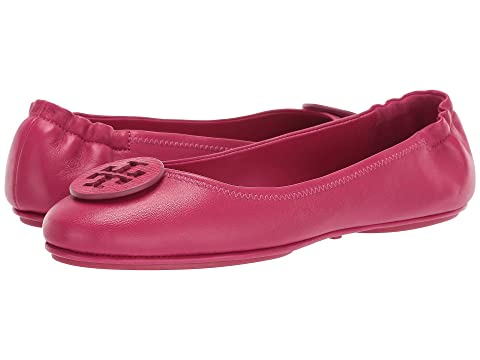 18c90e6d794cf Tory Burch Minnie Travel Ballet with Logo at Zappos.com