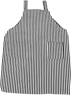 Anself Salon Hairdressing Apron Barber Hair Cape Cloth Waterproof (White stripe)