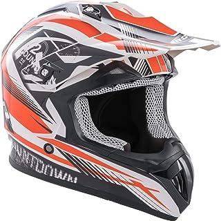 <h2>Rocc 742 Motocross Helm Schwarz/Weiß/Orange XL 61/62</h2>