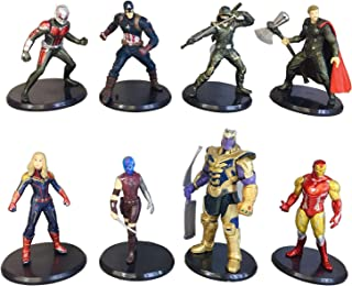 JianYia Super Hero Cake Decorations and Home Decoration Titan Hero Sculpture Worth Collecting A