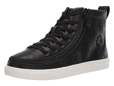 BILLY Footwear SINGLE SHOE Classic Lace High Metallic (Black Shine) Women