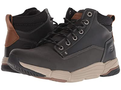 SKECHERS Relaxed Fit Metco Atmore Boot (Black) Men