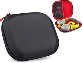 CaseSack Headphone Protective case Compatible with Sony MDR-XB400, XB600, XB610, ZX600, V55, Mesh Pocket for Cable, AMP, Parts and Accessories
