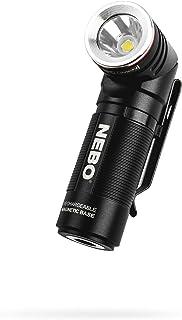 NEBO SWYVEL 1000-Lumen Rechargeable Flashlight: Compact Rechargeable EDC lighthas a90 Degree Rotating Swivel Head; 5 Light...
