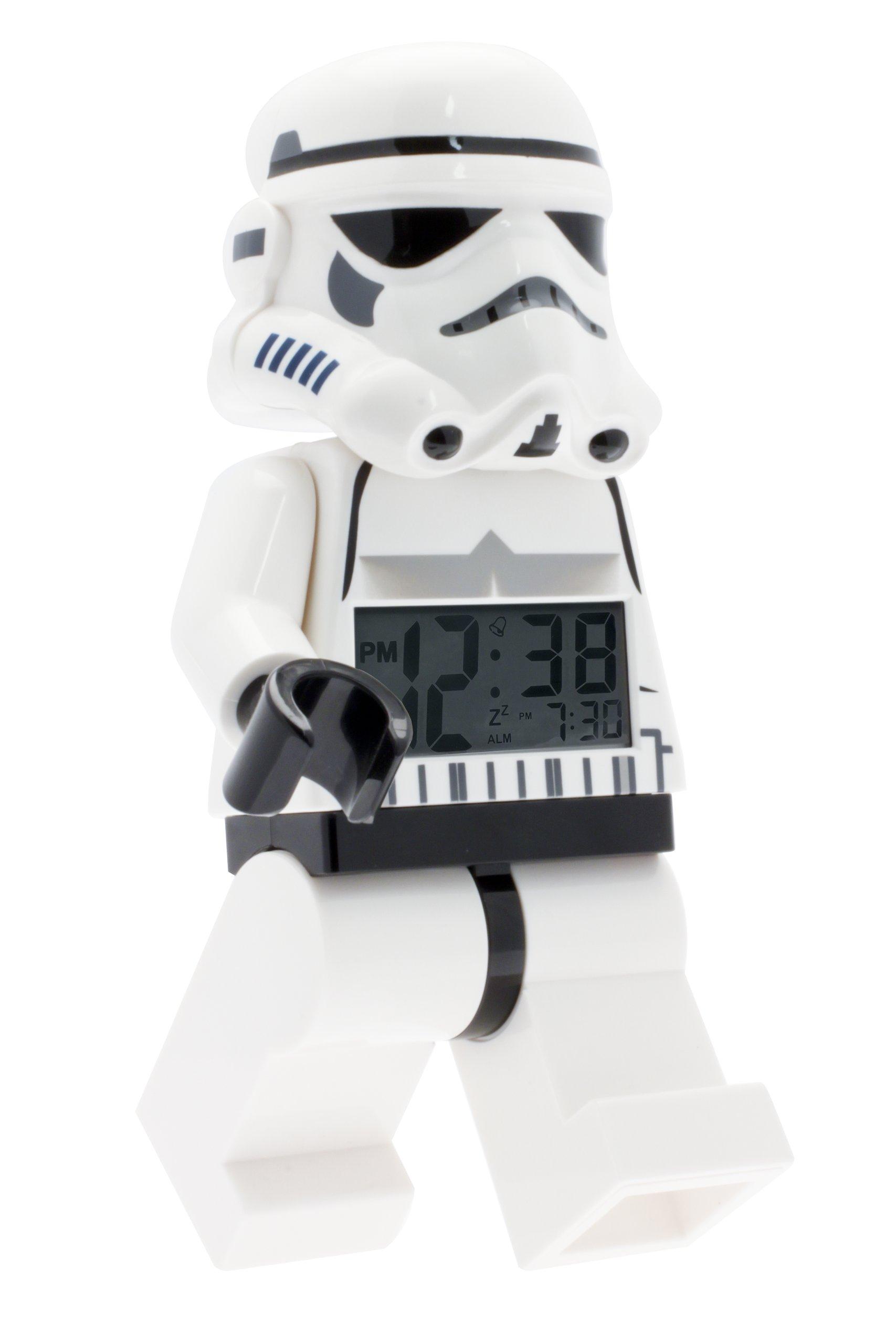 LEGO 乐高手表星球大战达斯维德儿童迷你人型点亮闹钟