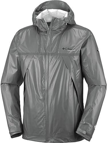 Columbia Titanium Outdry Ex Eco Shell Jacket - Men's Bamboo Charcoal, XL