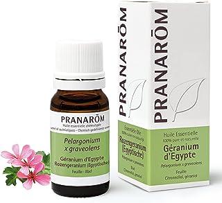 Pranarôm | Huile Essentielle Géranium d'Egypte | Pelargonium x graveolens | Feuille | HECT |10 ml