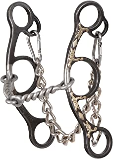 Classic Equine Sherry Cervi Diamond Twisted Short Gag Bit