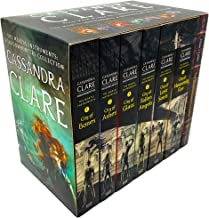 Cassandra Clare The Mortal Instruments: A Shadowhunters Collection 7 Books Set (Bones, Ashes, Glass, Fallen Angels, Lost Souls, Heavenly Fire + The Shadowhunter's Codex)