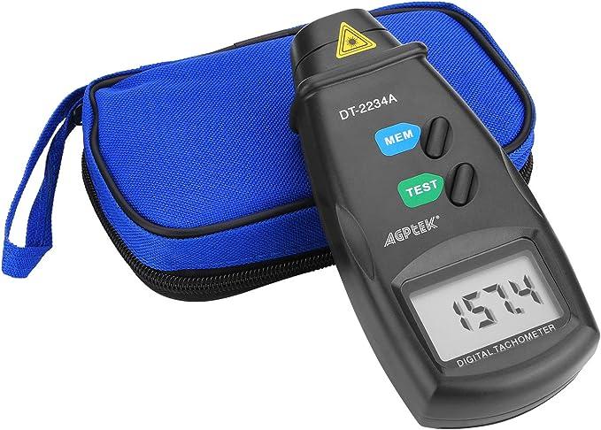 118 opinioni per Contagiri digitale, FITNATE senza contatto digitale laser foto contagiri rpm