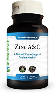 Healthy Habits Optimal Health — Zinc A & C Antioxidant Formula w/ Copper, Vitamin B6 & Bioflavonoids for Cellular Health &...