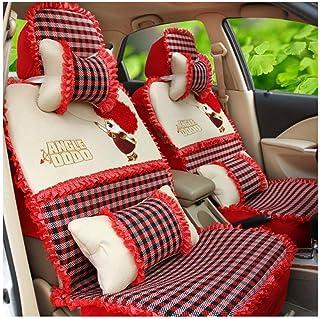 JKHOIUH Protector universal for cinturones de seguridad: el mejor protector antideslizante for asientos de automóvil de lino: perfecto for gimnasios, playas, correr y mascotas Cubierta general for aut