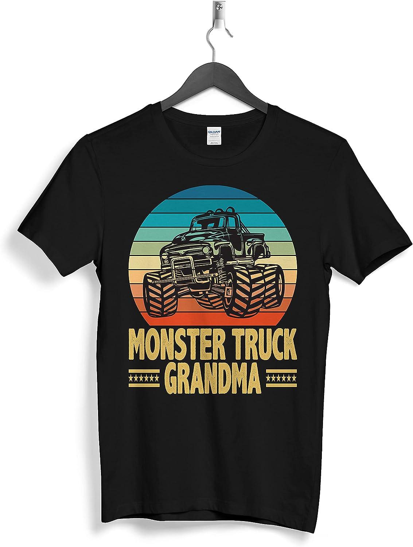 Monster Rruck Family Grandma Custom Personalized T-Shirts Gifts