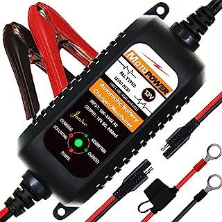 comprar comparacion MOTOPOWER MP0205A 12V 800mA Cargador de batería automático/Mantenedor para automóviles, Motocicletas, ATVs, RVs, Powerspor...