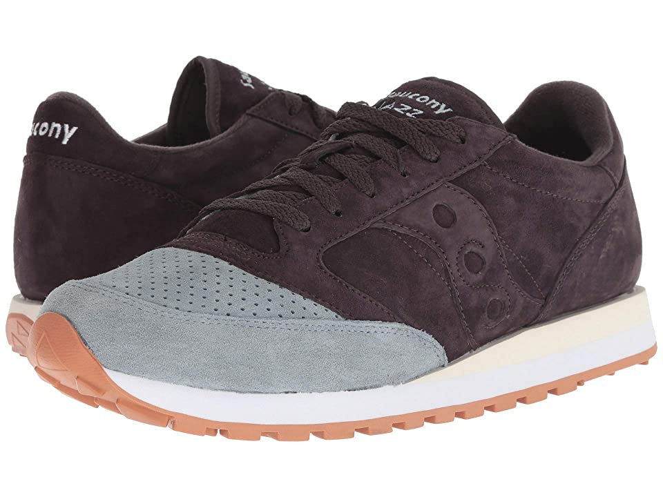 Saucony Originals Jazz Original Suede (Navy/Light Blue) Men