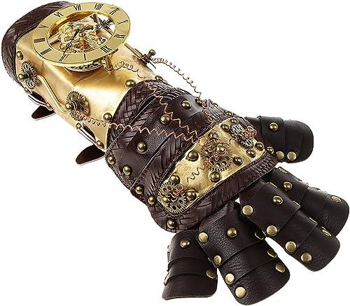 Homyl Bracelet Poignée Steampunk Cuir PU Vintage Victorian Costume Punk Accessoire
