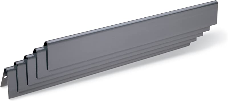 Weber 7536 Porcelain Enameled Flavorizer Bars 22 5 X 2 3 X 2 3 Inches