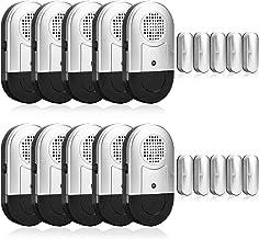 Wireless Door Window Open Alarm Home Security Magnetic Burglar Alarm Detector 125DB Anti-Theft Alert Sensor Low Battery Li...