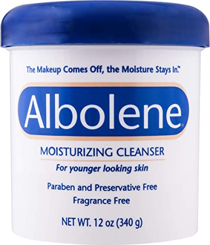 Albolene Moisturizing Cleanser | 3-in-1 Skin Care Product: Makeup Remover, Facial Cleanser and Moisturizer | No Soap ...
