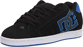DC Shoes Men's Net Skateboarding Shoe Leather