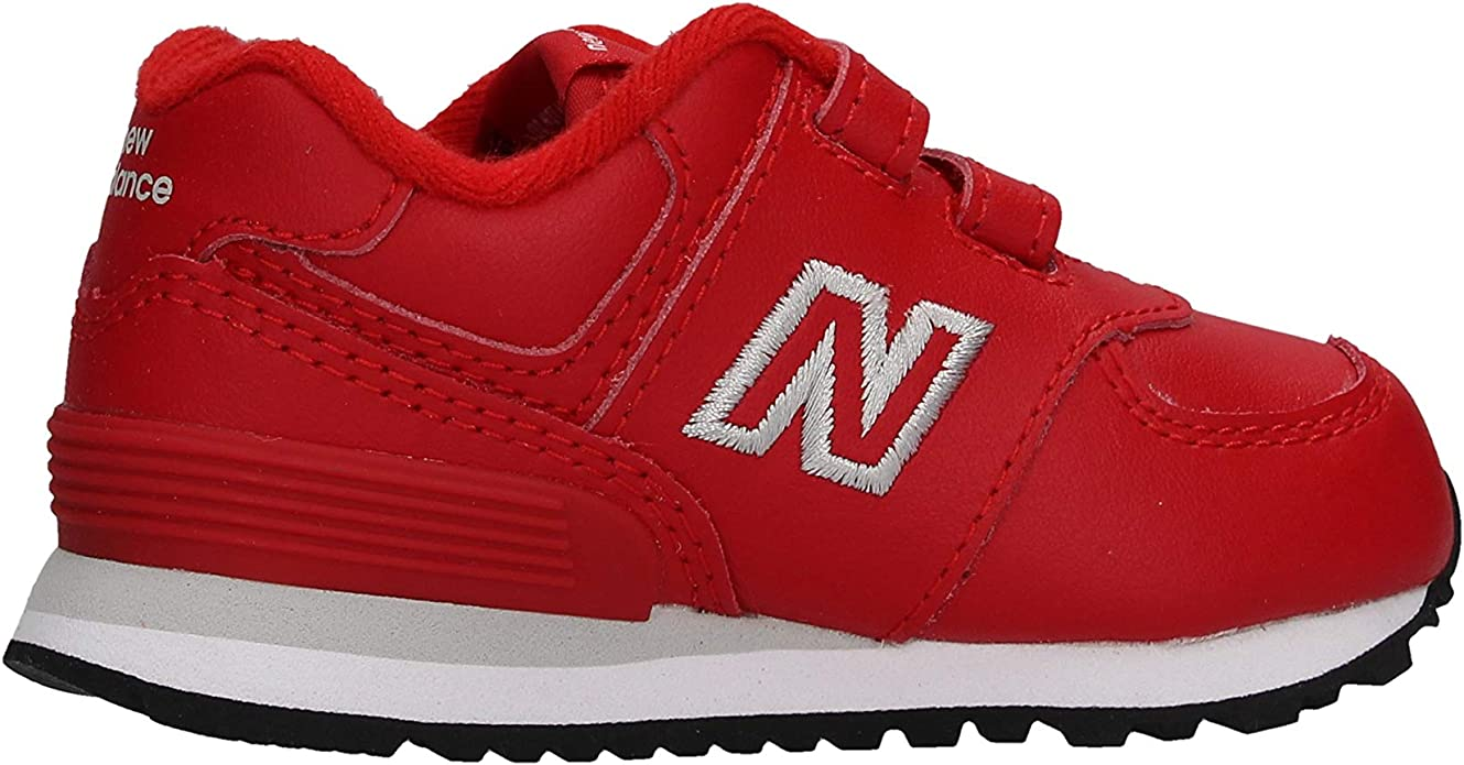 New Balance IV 574 ERD Baby Scarpe Sneakers Rosse da Bambino