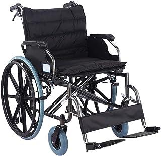 肥満 車椅子 折りたたみ 輸送椅子 反-傾いて 医療 ヘビーデューティ 車椅子 自己-推進 フリップ 取り外し 可能 デスクアーム マルチプロット イージートラベル