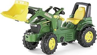 Rolly Toys S2671002 710027 - rollyFarmtrac John Deere 7930 Tretfahrzeug für Kinder ab drei Jahre, Flüsterlaufreifen, verstellbarer Sitz
