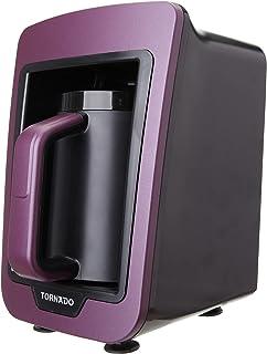 Tornado TCME-100 V Automatic Turkish Coffee Maker, 735 Watt - Violet and Black
