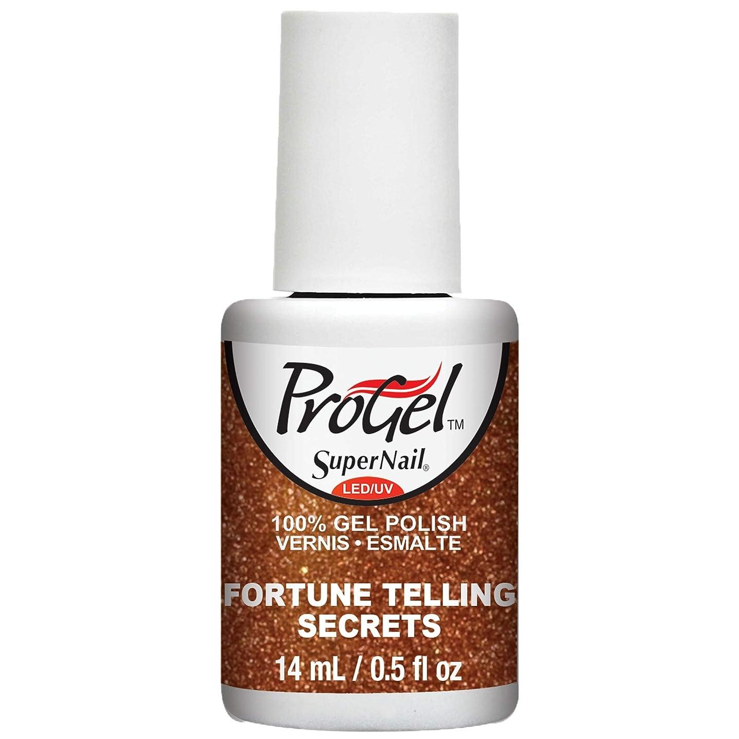 豊富歩道失望SuperNail ProGel Gel Polish - Fortune Telling Secrets - 0.5oz / 14ml