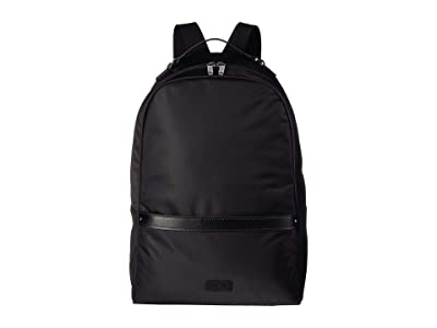Lipault Paris Lady Plume Medium Backpack (Black) Backpack Bags