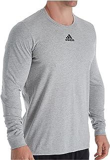 adidas Men's Amplifier Long Sleeve Logo T-Shirt EK02