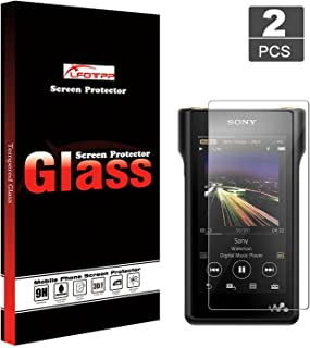 LFOTPP Sony MP3 MP4 NW-WM1A/NW-WM1Z Walkman Player Screen Protector Foils High Definition Tempered Glass Scratch-Proof ,Hi...
