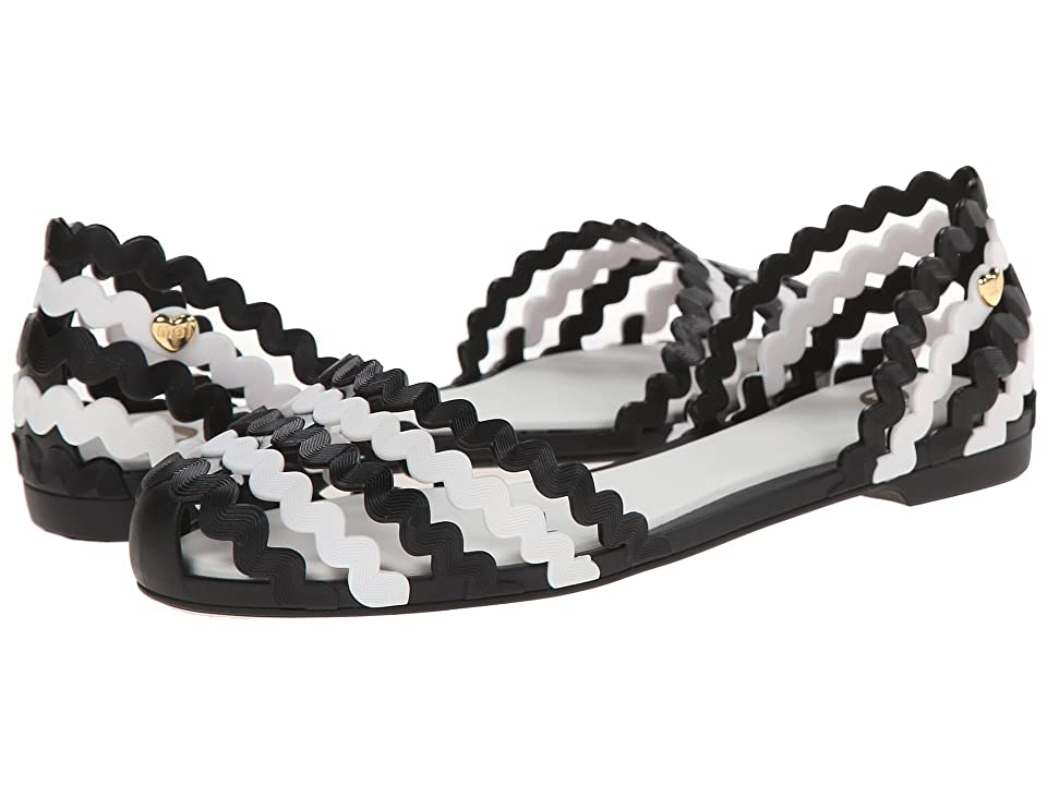 Melissa Shoes Mel Sweetie (Black/White) Women