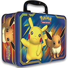 Pokemon TCG: Fall 2018 Collector's Chest Tin Featuring Pikachu & Eevee + 5 Booster Packs + A Collector's Chest