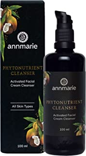 Annmarie Skin Care Phytonutrient Cleanser - Activated Facial Cream Cleanser with Coconut Oil, Mango Seed Butter + Acai Oil (100 Milliliters, 3.4 Fluid Ounces)