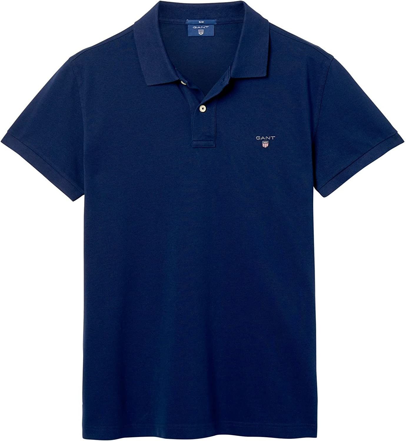 GANT Piqué Fitted Polo