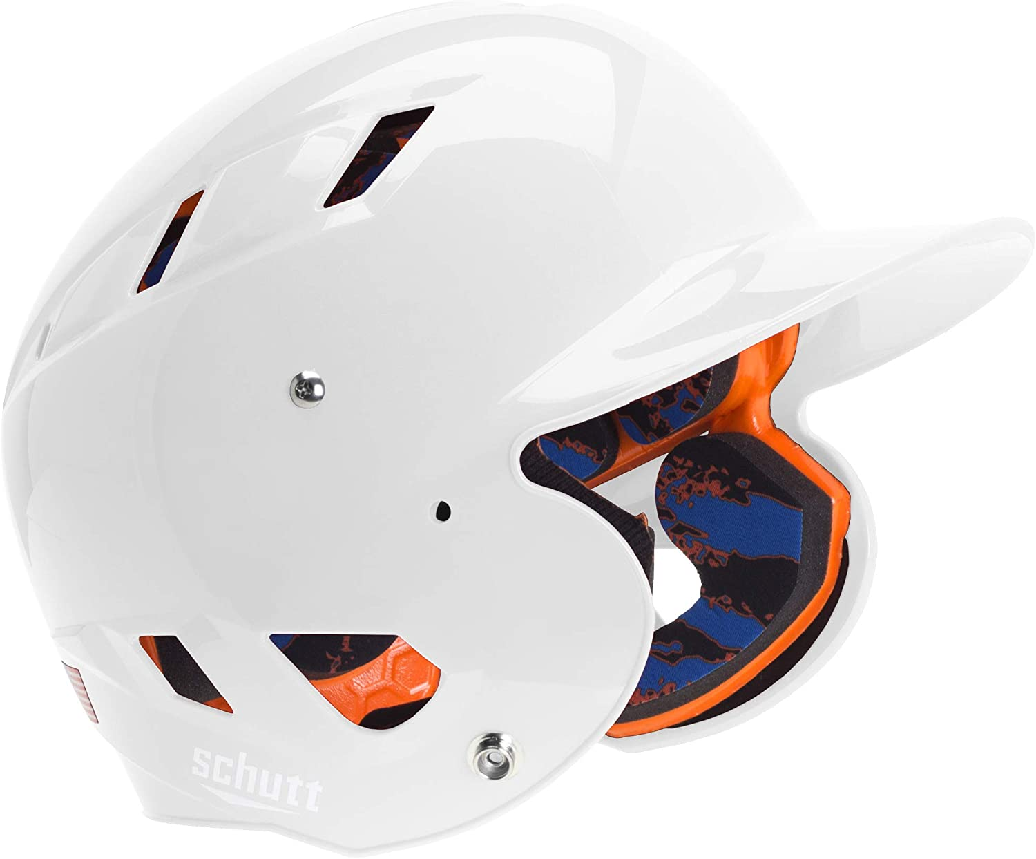 Schutt Sports Junior OSFM 3242 AIR 4.2 Batter's Helmet, High Gloss White