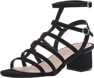 Chinese Laundry Women's Monroe Heeled Sandal, black suede, 6 M US