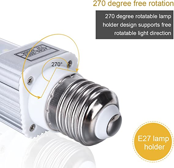 Ueetek 11W E27 LED Lámpara ahorro de energía para adaptarse a todos los peces Pod Y Peces Acuarios De Caja
