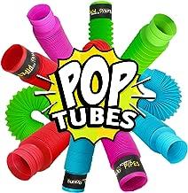 BUNMO Pop Tubes Sensory Toys - 4 Pack