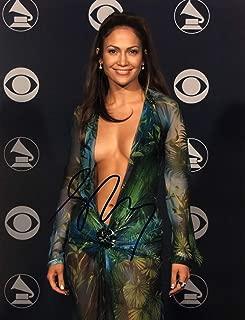 JENNIFER LOPEZ Autographed Hand SIGNED 11x14 Photo 2000 GRAMMY AWARDS Versace Dress