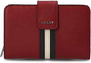 Luxury Fashion | Bally Womens 6219288SEMBRIDGES106 Red Wallet | Season Outlet