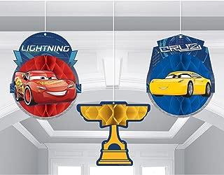 Cars 3 Honeycomb Decoration