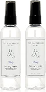 The Laundress Fabric Fresh Baby, 4 Fluid Ounce (2 Pack)