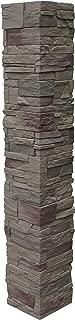 NextStone Country Ledgestone 2pc Split Faux Stone Post Cover - 8