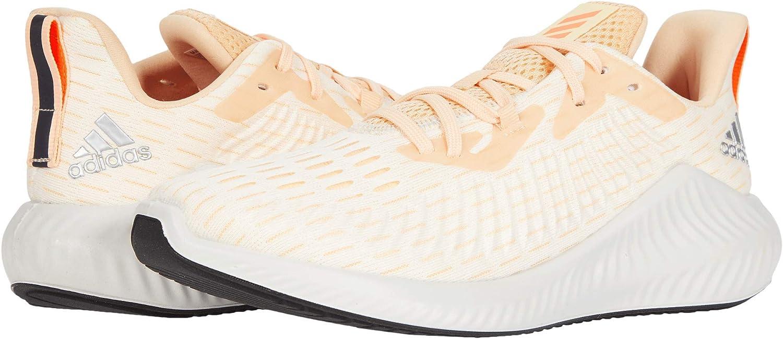 adidas Women's Alphabounce Plus Running Shoes Glow Orange/Solar Orange/Ecru Tint