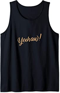 Horse Riding Yeehaw Rodeo Cowboy Cowgirl Western Country Tank Top