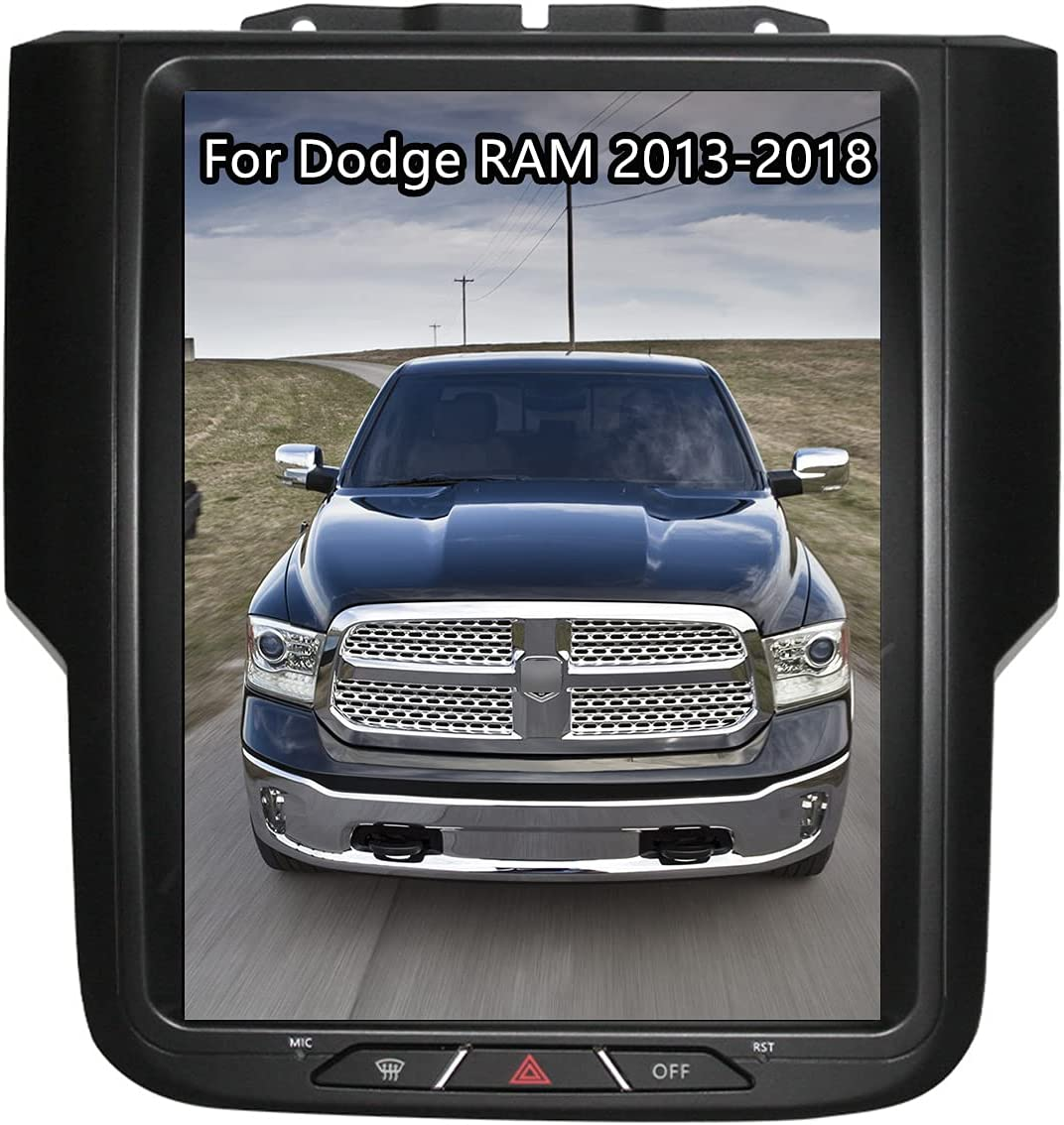 ZWNAV Android Tesla Style Radio for NEW Popular shop is the lowest price challenge 1500 Car 2013-2018 Dodge Ram